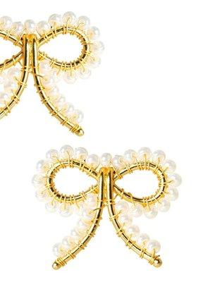 LISI LERCH Little bow pearl