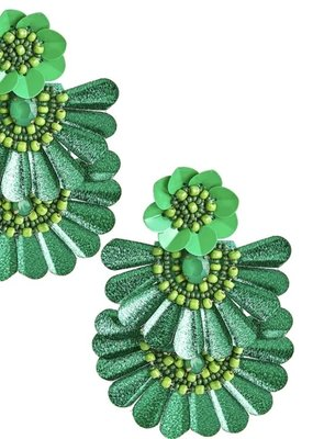 LISI LERCH Natalie earring emerald