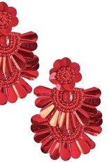 LISI LERCH Natalie earring red