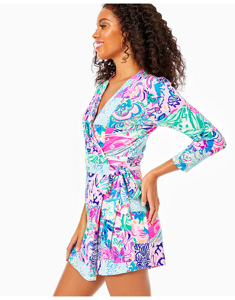 LILLY PULITZER R20 002711 KARLIE WRAP ROMPER