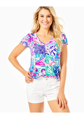 LILLY PULITZER ETTA V-NECK