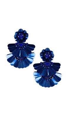 LISI LERCH Natalie earring navy