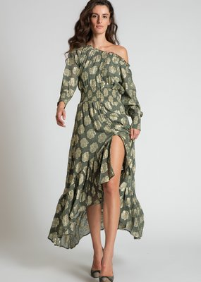 Muche et Muchette Louisa button down maxi army green