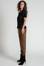 Muche et Muchette 1419pn phoenix sequins knit tee black