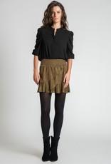 Muche et Muchette 1090zne zea lurex skirt black/gold