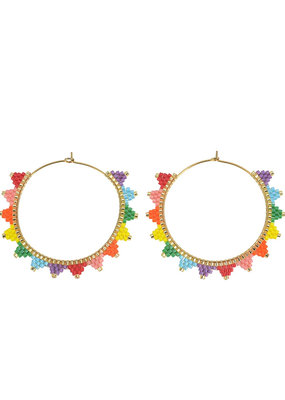 caryn lawn kona hoop earrings