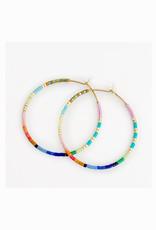 caryn lawn baja hoop earrings