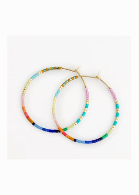 caryn lawn Baja hoop earrings