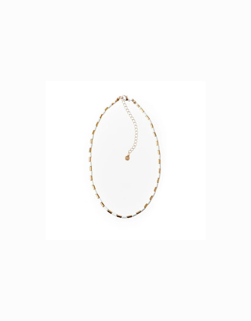 caryn lawn tube tile necklace