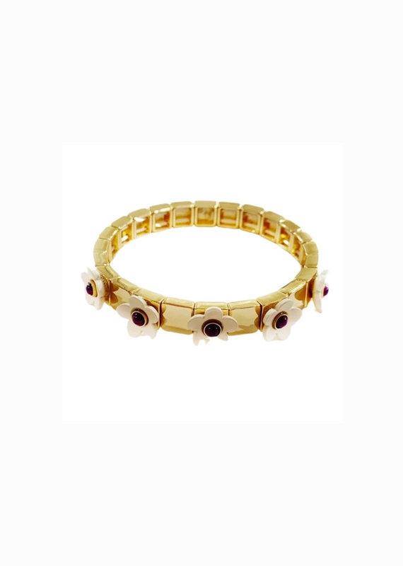 caryn lawn Flower bracelet