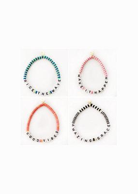 caryn lawn Good vibes bracelet
