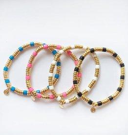 caryn lawn Laguna bracelet pink