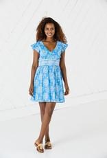 SAIL TO SABLE r2020 short sleeve flutter dress