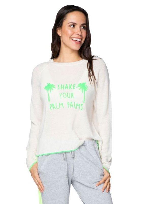golden sun Sweater Shake your Palm Palms