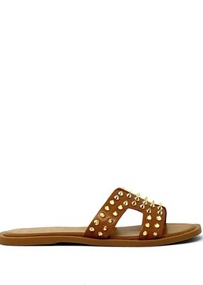 shu shop Flat Sandal Tan