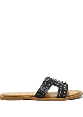 shu shop Flat Sandal black