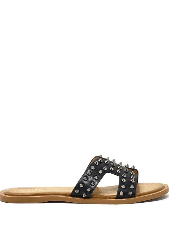 shu shop Flat Sandal black