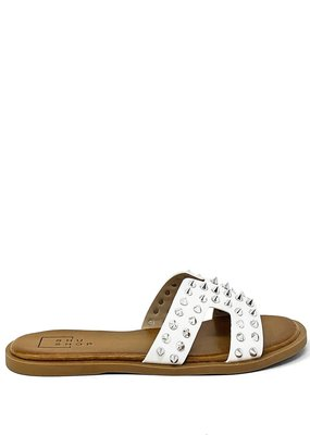 shu shop Flat Sandal white