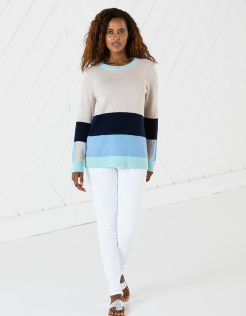 SAIL TO SABLE r2004 long sleeve stripe sweater