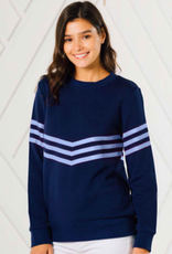 SAIL TO SABLE 2025 INVERTED STRIPE SWEATSHIRT