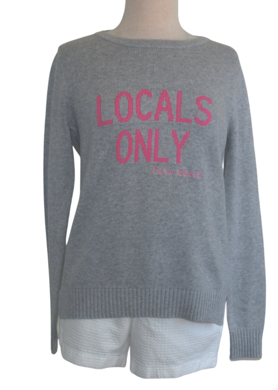 pink pineapple Locals only grey