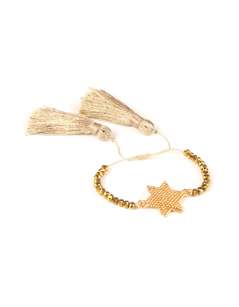 CB Designs Gold Star Bracelet