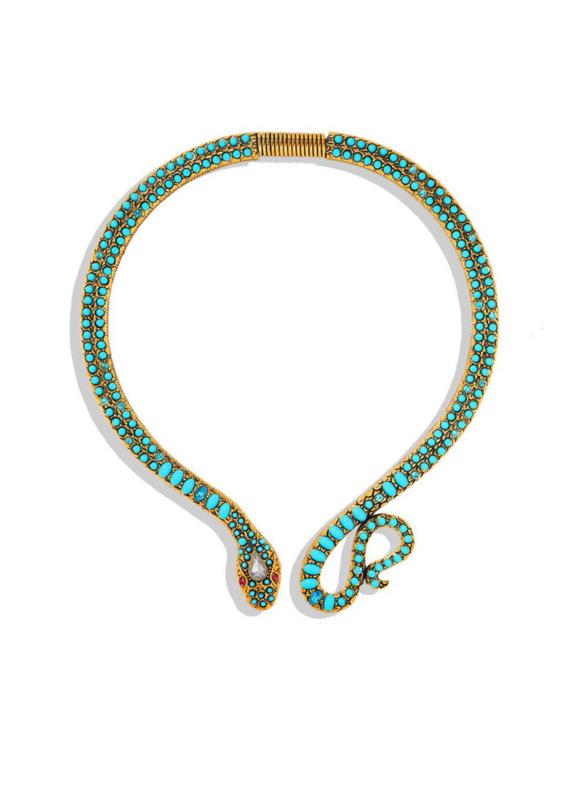 CB Designs Snake Necklace