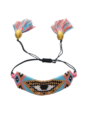 CB Designs Multi Evil Eye Bracelet