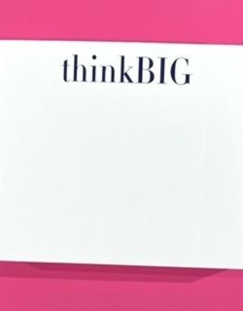 national print and design Note Pad Think Big