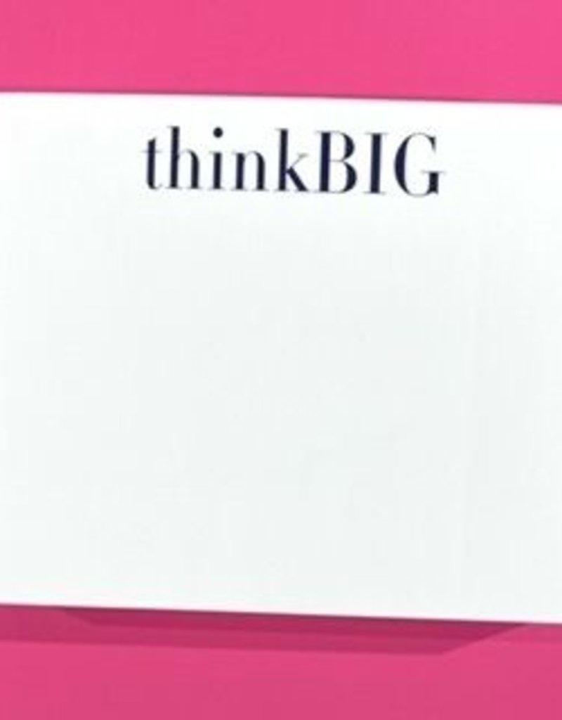 Note Pad Think Big