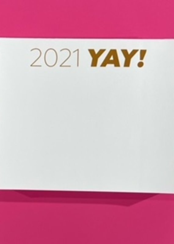 national print and design Note Pad 2021 Yay