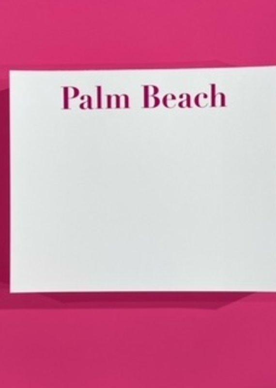 Note Pad Palm Beach
