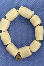 pranella 007642 aruba cream bracelet