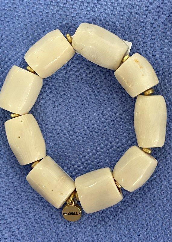 pranella Aruba  Cream Bracelet