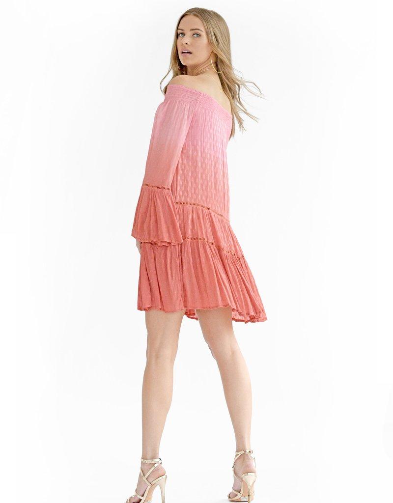 Muche et Muchette 1227 Doris Dobby Off Shoulder Dress