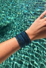 JOSEPHINE ALEXANDER Layered bracelet seagrass