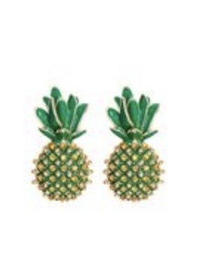 CB Designs Pineapple earring