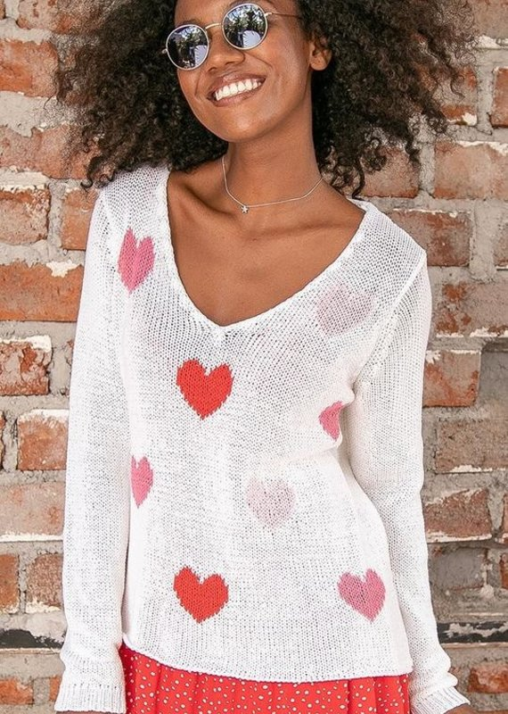 WOODEN SHIPS Bewitched v cotton sweater