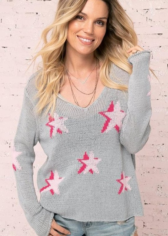 WOODEN SHIPS Seeing stars v cotton sweater