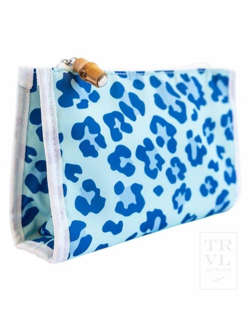 travel design day tripper leopard blue