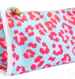 travel design Day tripper leopard pink