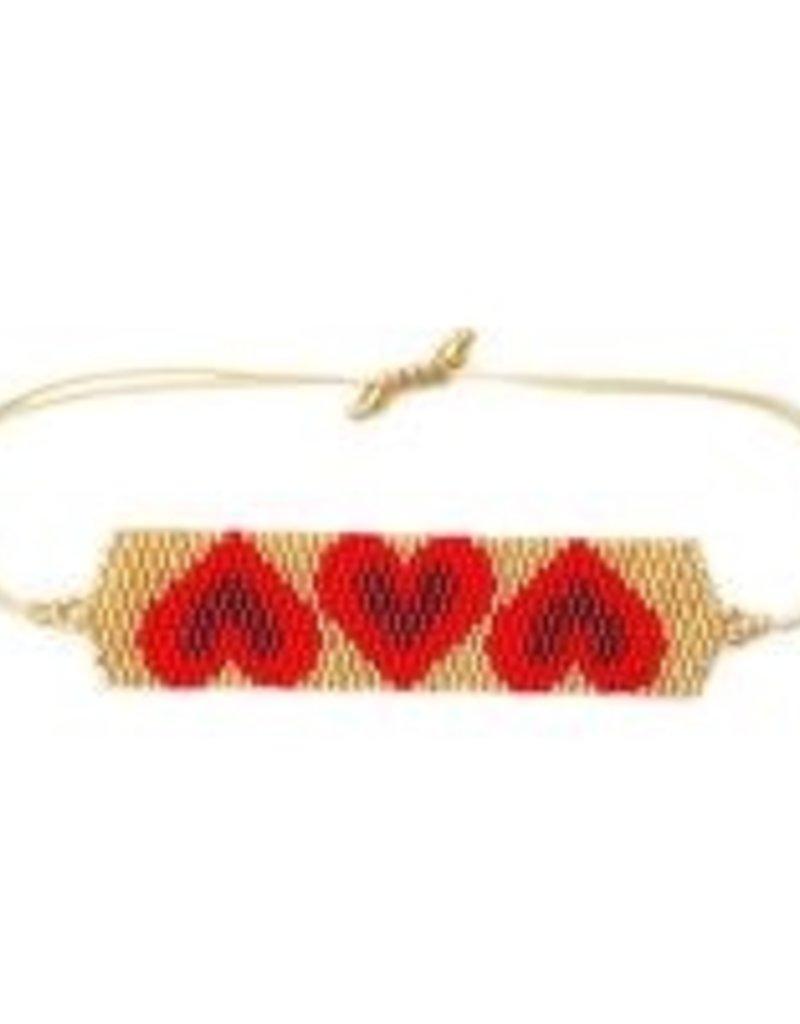 CB Designs hearts red