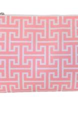 travel design Road Tripper twill shell pink trellis