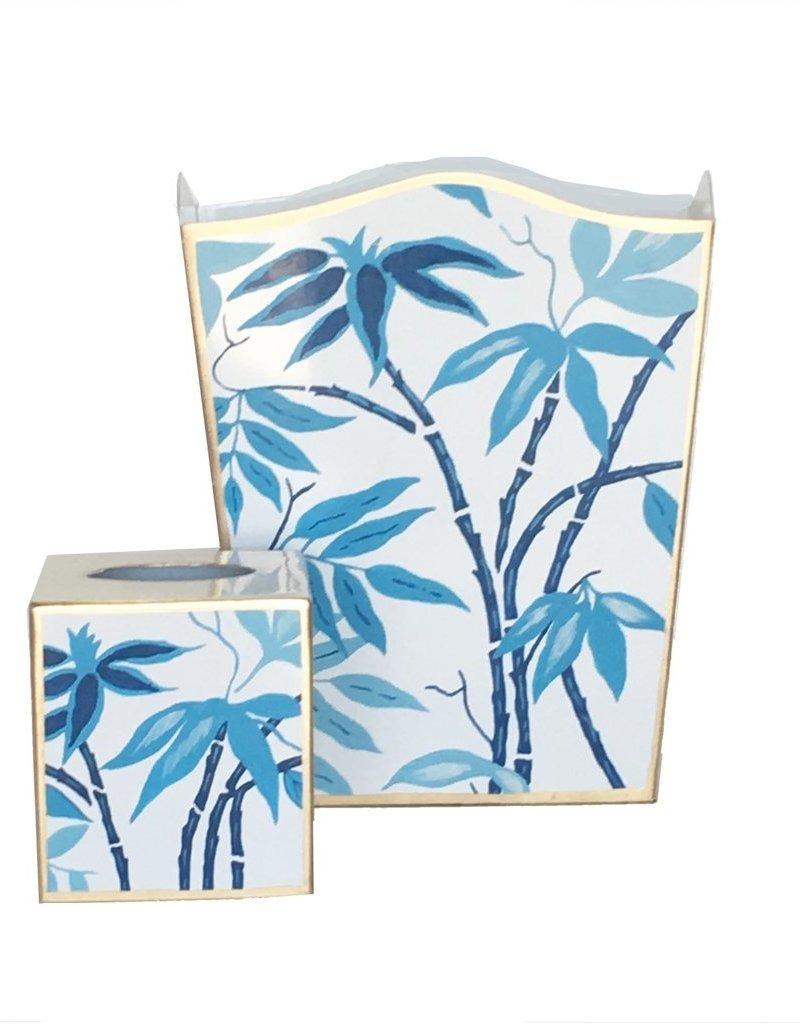 011-fbi Tissue box fontaine in blue