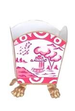 015-cp Cachepot canton pink