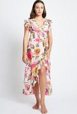 rosa  wrap cotton maxi dress
