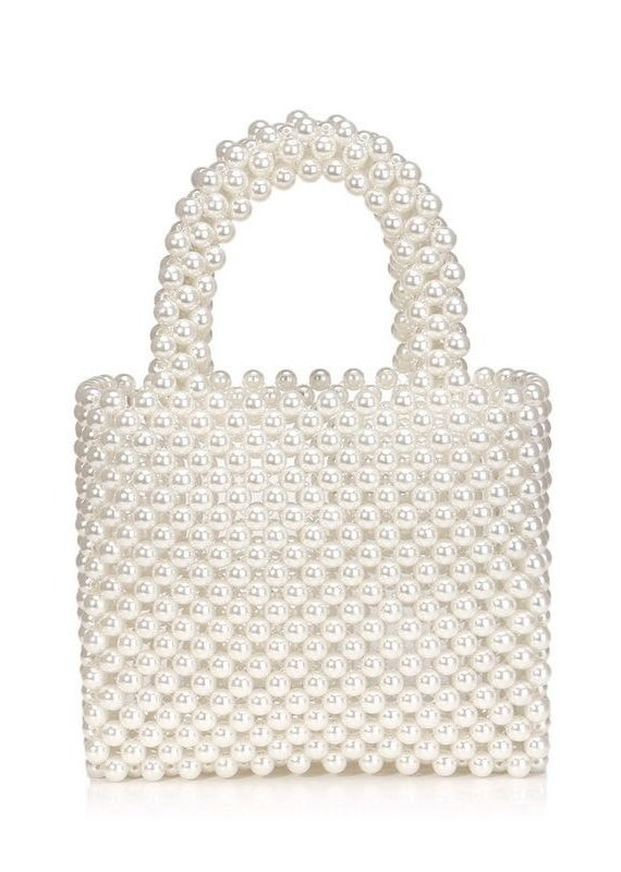 CB Designs pearl handbag
