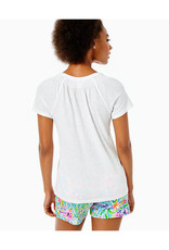 LILLY PULITZER S21 004832 SHORT SLEEVE ESSIE TOP
