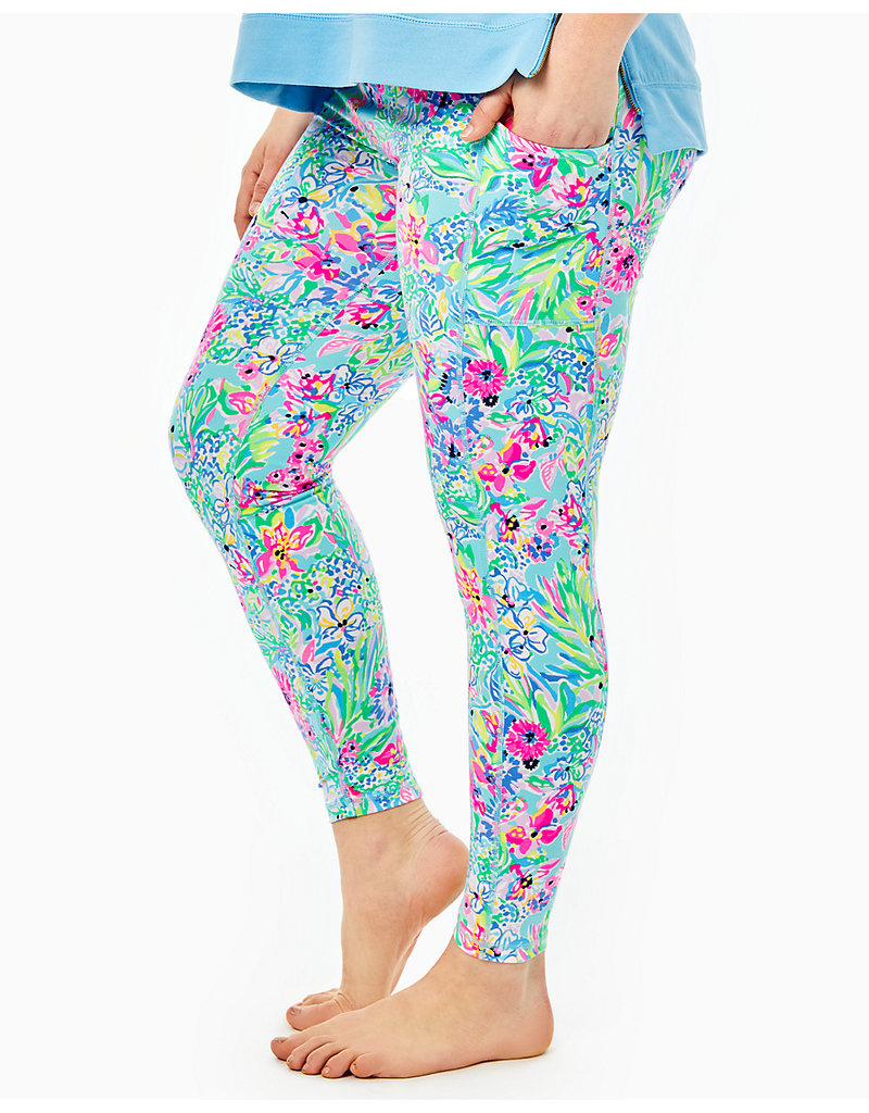 LILLY PULITZER S21 006047 WEEKENDER HIGH RISE LEGGING