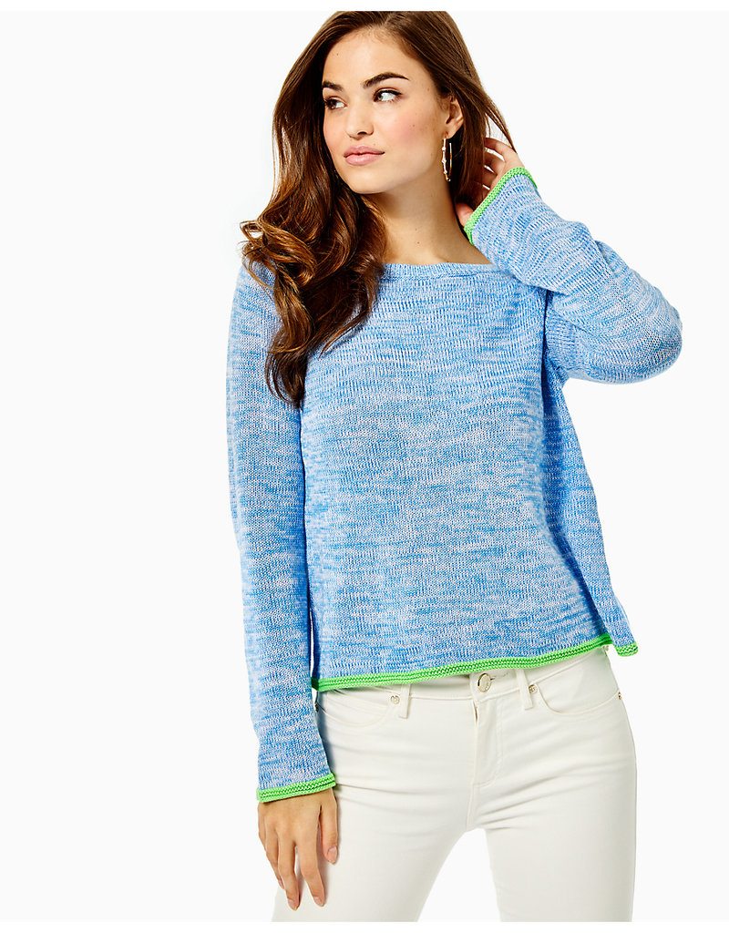 LILLY PULITZER S21 007334 ZAYLIA SWEATER